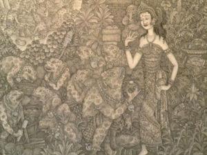 バリ絵画6